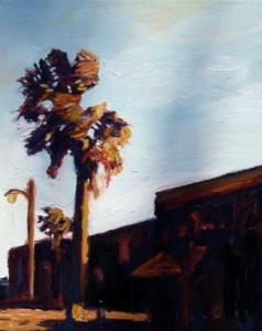 3rd Street, 2005, Oil on Canvas, 14 x 10 in.