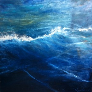 Deep Ocean, ©2011 Amy Donaldson, Oil on Canvas, 48 x 48 in.