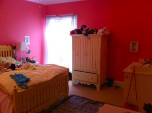 Lil's room before makeover