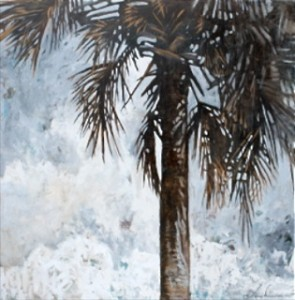 Palm, 2011, Amy Donaldson, Oil on Canvas, 60 x 60 in.