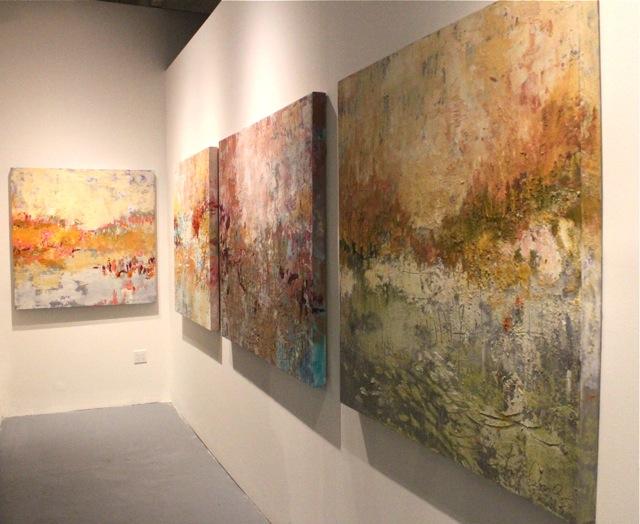 Abstract Art Amy Donaldson Art Basel Miami Donaldson