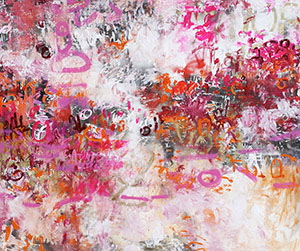 Adore, Mixed Media, 60 x 72 in. © Amy Donaldson 2012