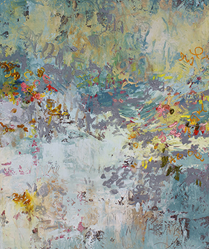 In His Presence, Mixed Media, 72 x 60 in. © Amy Donaldson 2012