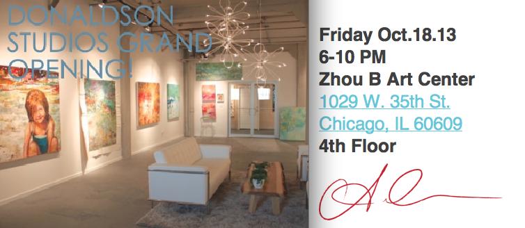 3rd Fridays at Zhou B Art Center Amy Donaldson