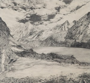 Amy Donaldson pencil drawing 1994