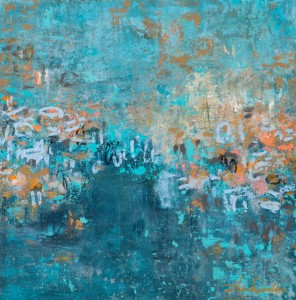 Amy Donaldson, blue painting, abstract art, modern art, painting, fine art, chicago art, artist