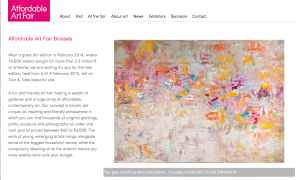 Affordable Art Fair Brussels , Belgium, Amy Donaldson, Chicago art