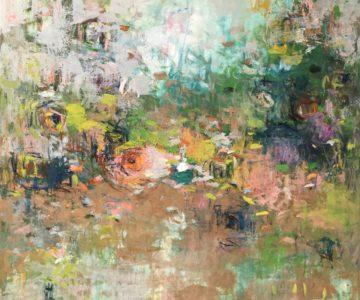 healing art, oil painting, abstract art