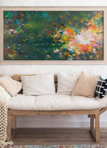 healing art, oil painting, contemporary art, abstract art, museum art