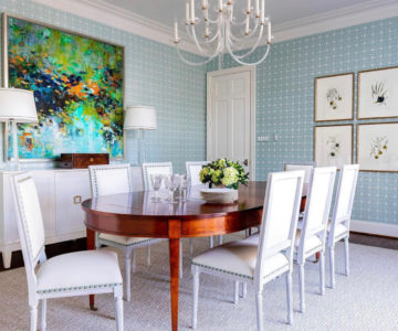 healing art, oil painting, contemporary art, interior design, art in dining room